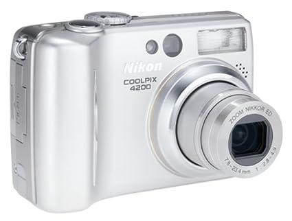 amazon com nikon coolpix 4200 4mp digital camera with 3x optical rh amazon com nikon coolpix 3200 manual free download nikon coolpix 3200 manual free download