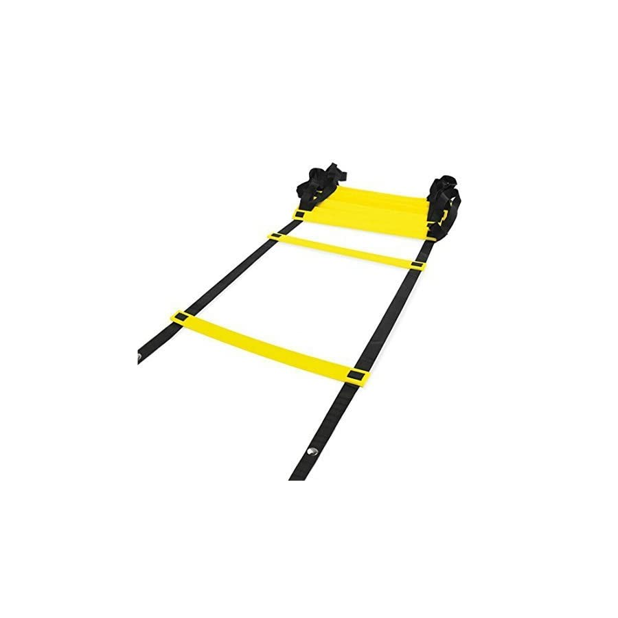 Physport Speed Ladder Soccer Training Agility Ladder with Carry Case Sport Tool