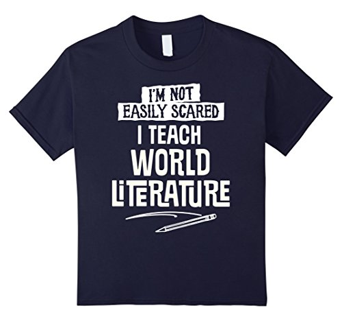 World Costumes Literature (Kids Humorous World Literature Teacher T-Shirt for Women and Men 12)