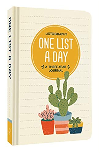Amazon com: Listography: One List a Day: A Three-Year