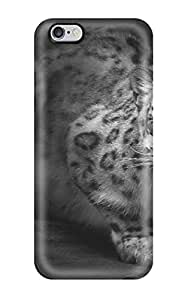 Awesome Design Leopard With Blue Eyes Hard Case Cover For Iphone 6 Plus