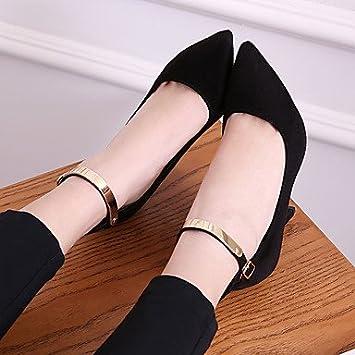 Zormey La Mujer Club Verano Tacones Zapatos De Cuero De Vaca Oficina &Amp; Carrera Rubor Rosa Fucsia Rojo Negro Gris aimiy