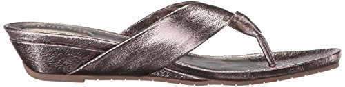 Hematite Great Sandal Wedge Low Kenneth Women's REACTION Cole Metallic Thong Date HqxtPvSw