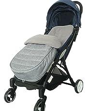 Voetenzak voor kinderwagen, buggy, 3-in-1 kinderwagen, slaapzak, voorjaar, herfst, verdikt en fluwelen deken voor baby's, wasbaar, universeel voor babyzitje