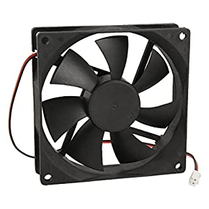 URBEST®90mm x 25mm DC 12V 2Pin Cooling Fan for Computer Case CPU Cooler