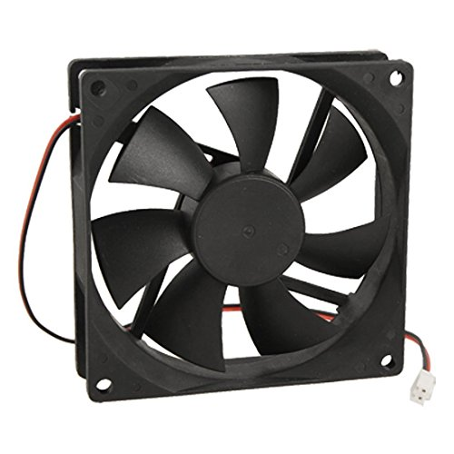 URBEST®90mm x 25mm DC 12V 2Pin Cooling Fan for Computer Case CPU Cooler 70g Case