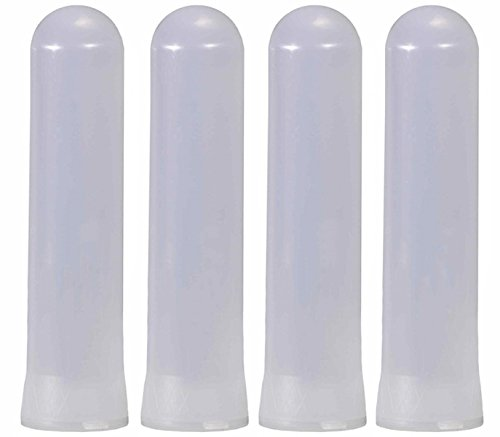 Tippmann Paintball Heavy Duty 140 Round Guppy Pods, Clear, Pack of 4 (140 Round Tube Pod)