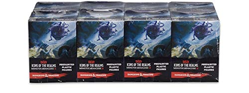 (Dungeons & Dragons: Icons of the Realms: Standard Booster 8 Count Brick - Monster Menagerie 2 )