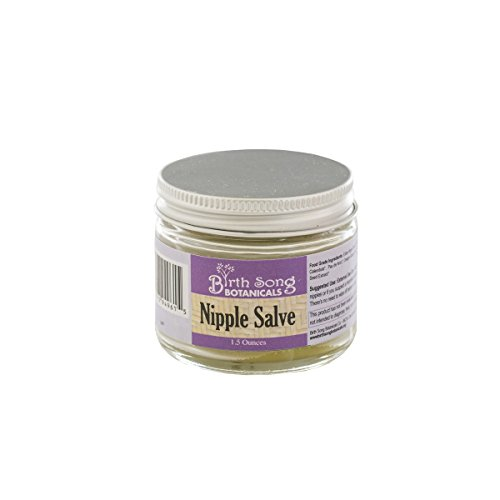 Birth Song Organic Nipple Cream for Breastfeeding Mothers, All Natural Ingredients, 1.5 ounce jar