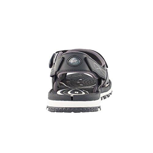 """GP9177 Breathable Wasser Sandalen für Kid Männer Frauen, einfache """"SNAP LOCK"""" Magnetschnalle 6912-schwarz (Prime Kostenloser Versand)"""