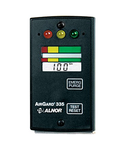 Alnor 335-D TSI Digital Fume Hood Monitor, 70 to 250 ft/min by Alnor