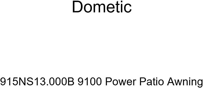 Dometic 915NS13.000B 9100 Power Patio Awning, Awnings ...