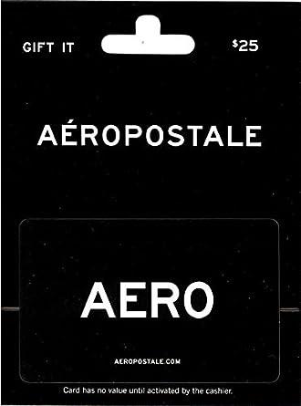 Amazon.com: Tarjeta de regalo Aeropostale: Tarjetas de regalo