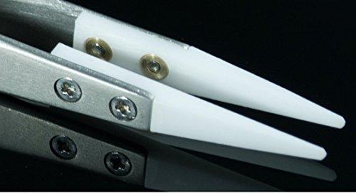 ANKRY Genuine Lightning Vapes Ceramic Tweezers - Heat Resistant - Pointed
