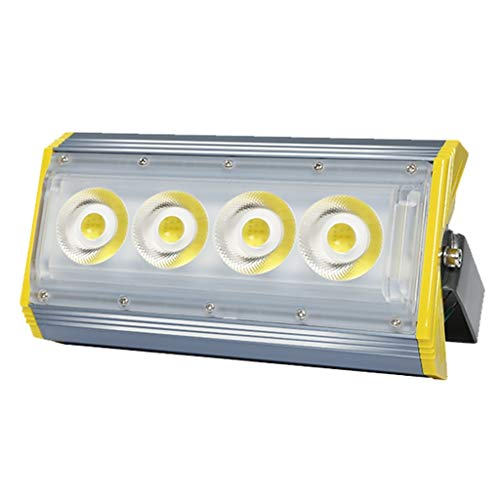 - Led Security Light LED Flood Light, Outdoor Waterproof Fish Pond Site Tower Crane Square Spotlight Security Light (Color : Warm White Light, Size : 50W)