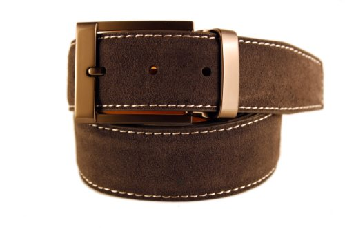 New Men's Marco Valentino Italy Gray Suede Belt - Size: for sale  Delivered anywhere in USA