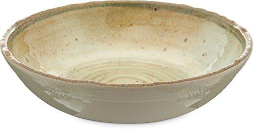 Carlisle GA5500370 Gathering Melamine Small Bowl, 24 oz. Capacity, Adobe ()