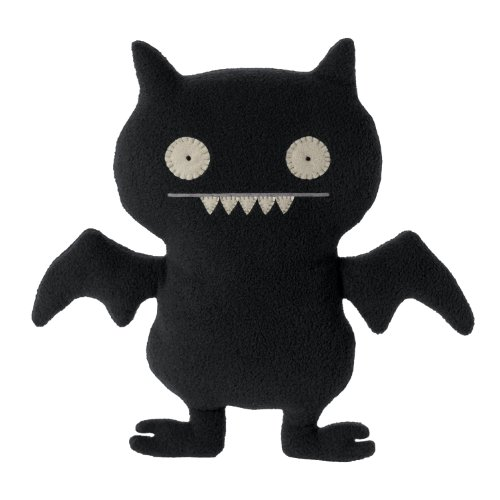 (Ugly Doll Little Ugly Plush Doll, Secret Mission Icebat)