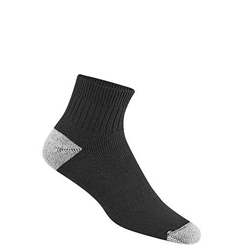 Wigwam Diabetic SportQuarter Socks Black LG (Womens Bindings 2010)