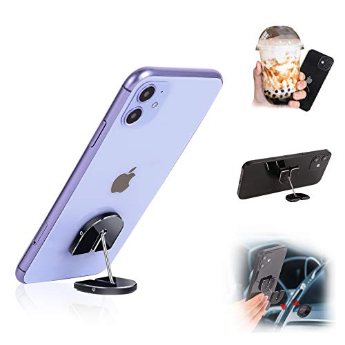 1step2dream Phone Grip Magnetic Kickstand Multi-Scene iPhone Finger Holder for Desk,Car,Home
