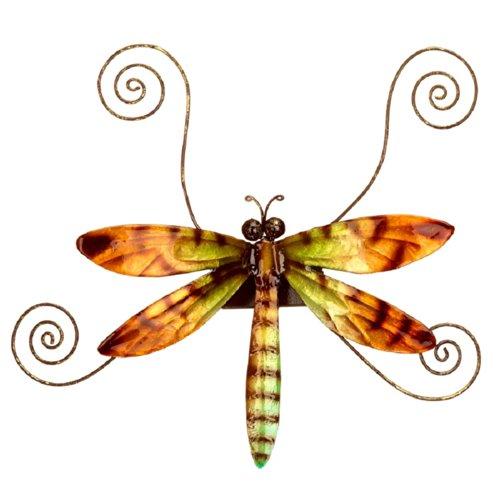 Deco Flair Dragonfly Capiz Shell Magnet Photo Holder