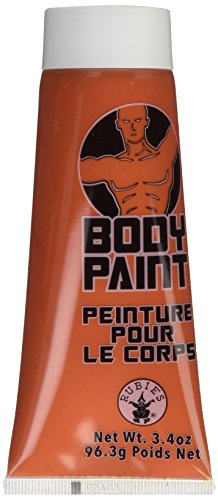 Forum Novelties 3.4 Oz Orange Fx Washable Body Face Paint Sports Fan Halloween Cream Tube Makeup ()