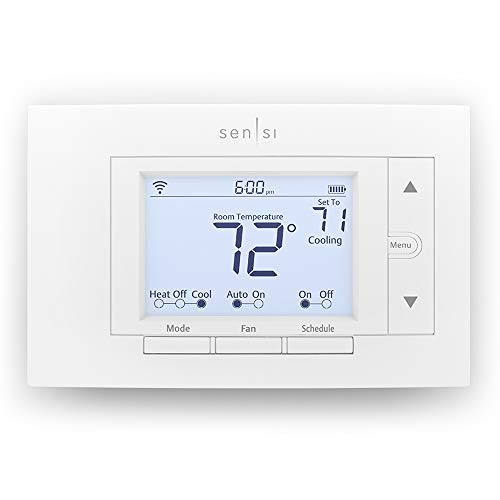 Emerson Sensi Wi-Fi Thermostat for Smart Home, ST55, DIY Version, Works with Alexa