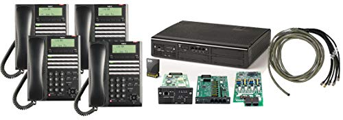 Array - nec sl2100 digital quick start kit 4 port voicemail 4 digital 24 button phones   nec be117450  rh   savemoney es