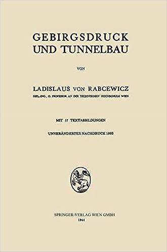 Gebirgsdruck und Tunnelbau
