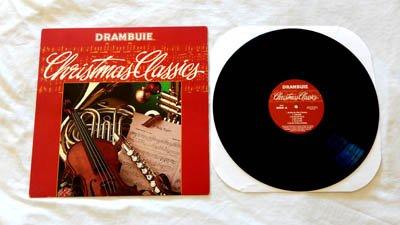 Drambuie Christmas Classics LP - Odyssey Records - 12 Holiday Classics and several Drambuie Recipes