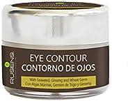 Rusens - Crema Contorno de ojos Antiedad 100% Natural, Aclara Ojeras y Desinflama