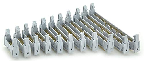 with Ejection Latch. Vertical 10PCS IDC 26 Pin Male Header Connector
