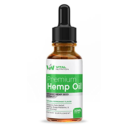 Hemp Oil Extract  30Ml Bottle     Enhanced Natural Formula   Encourages Heart Health   Encourages Relaxation    Loaded W Omega 3   6 Fatty Acids   30 Day Supply    Vital Nutrition