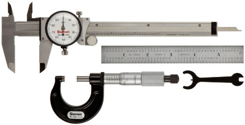 Starrett S909Z Inch Basic Precision Measuring Tool Set