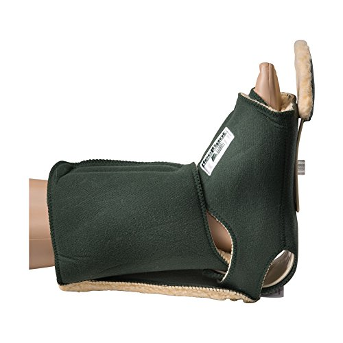 Heelbo Orthotic Boot, Left, Large - More than 16 Inch Mid-Calf, Green, 12001 (Each of 1) by Heelbo