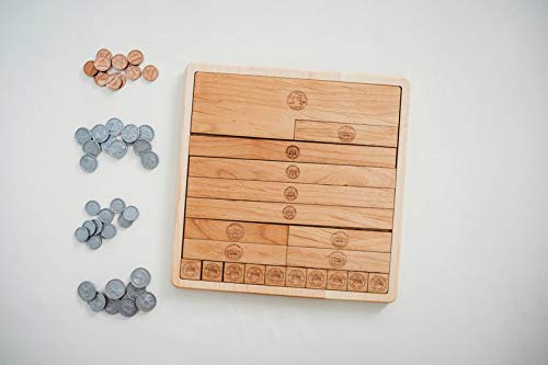 Dollar Counting Board For Learning About Money