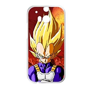 HTC One M8 Cell Phone Case White Dragon Ball M2348999