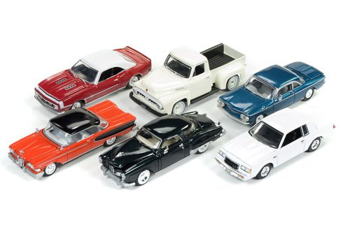 Racing Champions RC004B 2017 Mint Release 2 Set B Set of 6 Cars 1/64 Diecast Model Cars from Racing Champions