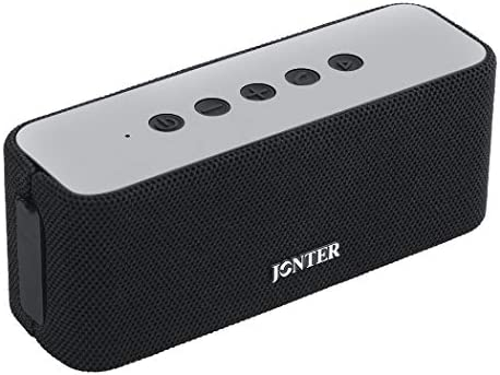 Jonter M61F Portable Bluetooth Speaker with Superior Stereo Sound,Bluetooth 4.2 Wireless Speakers,Water Resistant,Shockproof for Indoor and Outdoor Activities — Shower,Pool,Car,Home