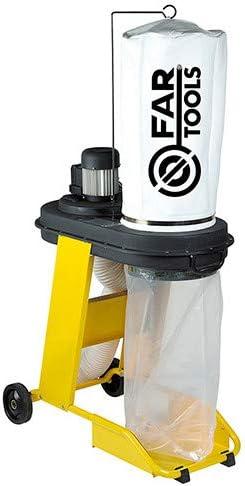 Fartools 113246 Aspiradora de virutas (550 W, diámetro 100 mm, carga máx. 65 L, diámetro del cilindro 320 mm): Amazon.es: Bricolaje y herramientas