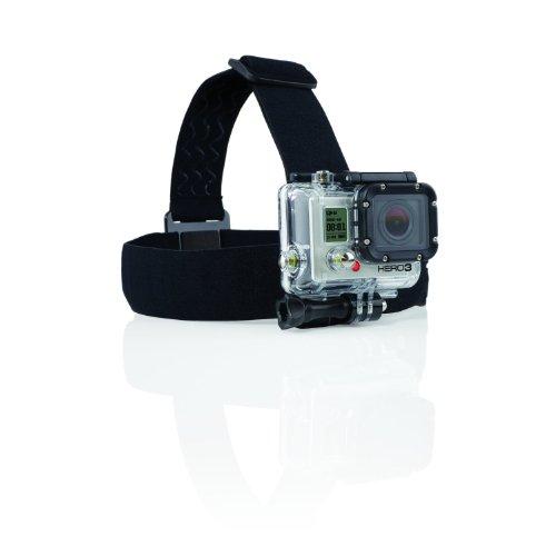 Navitech Helmet/Headband / Head Strap Mount for The GoXtreme Black Hawk 4K Action Camera