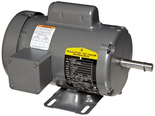 0.5 Hp Industrial Motor (Baldor L3504 General Purpose AC Motor, Single Phase, 56 Frame, TEFC Enclosure, 1/2Hp Output, 1725rpm, 60Hz, 115/230V Voltage)