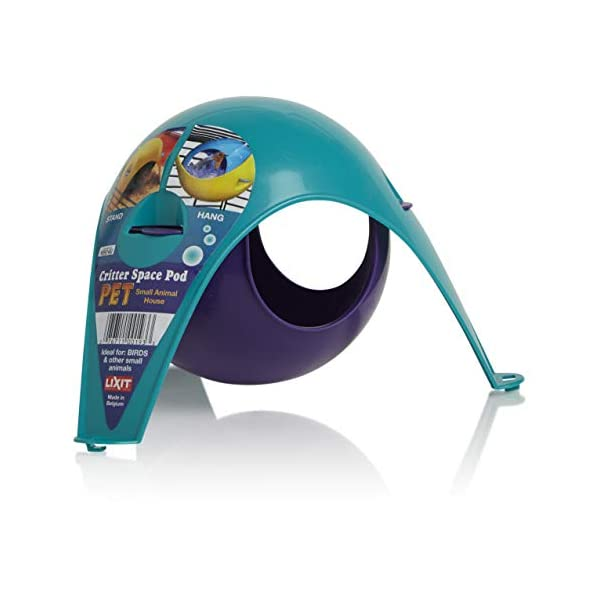 Lixit Critter Space Pod, Perfect for Small Animals 2