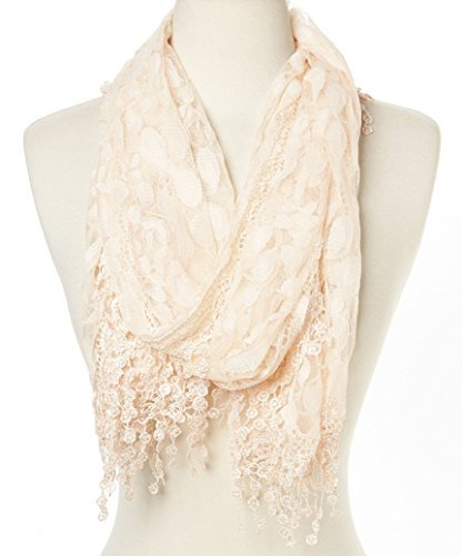 Cindy and Wendy Lightweight Soft Leaf Lace Fringes, used for sale  Delivered anywhere in Canada