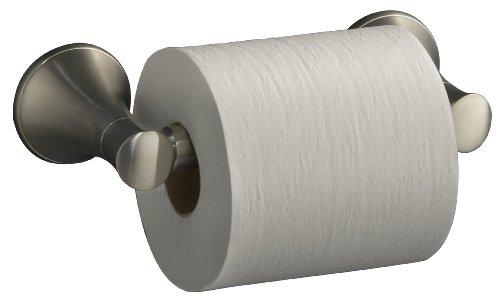 KOHLER K-13434-BN Coralais Toilet Tissue Holder, Vibrant Brushed Nickel