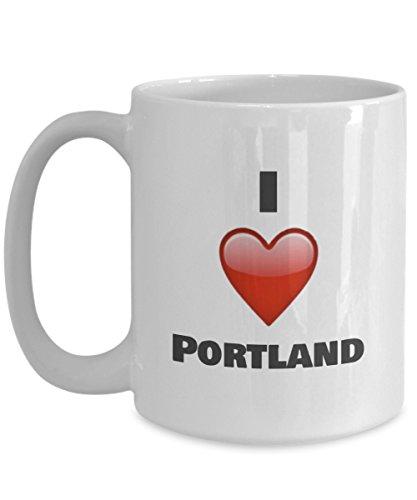 I Love Portland Coffee mug - Portland gifts