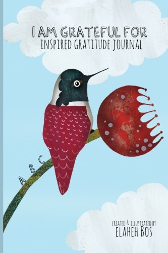grateful Inspired gratitude journal Hummingbird product image