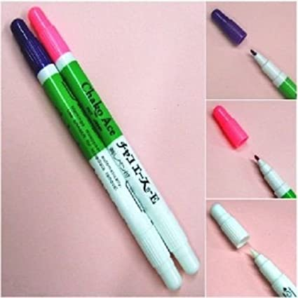 Set Of Pink /& Violet Pens With Eraser Disappearing Vanishing Pens