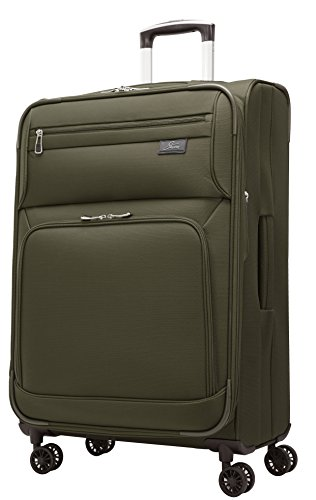 Inch 4 Wheel Expandable Upright, Forest Green, One Size ()