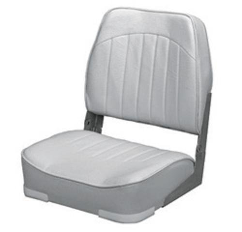 Wise Economy Low Back Seat (Grey) (Boat Fishing Seat Pedestal compare prices)